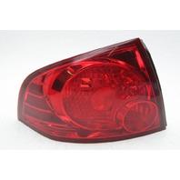 OEM Nissan Sentra Left Driver Side Halogen Tail Lamp 26555-6Z525 Lens Crack