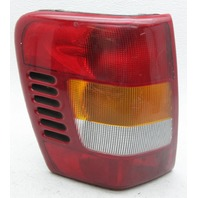 OEM Jeep Grand Cherokee Left Driver Side Halogen Tail Lamp 55155139AI Lens Crack