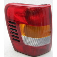 OEM Jeep Grand Cherokee Left Driver Side Tail Lamp 55155139AI Lens Crack & Chip