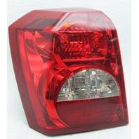 OEM Dodge Caliber Left Driver Side Halogen Tail Lamp 05160361AA Lens Crack