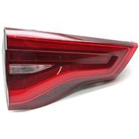 OEM BMW X3 Driver Side Lid Mounted LED Tail Lamp Lens Crack