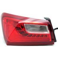 OEM Chevrolet Malibu Left Driver Side Tail Lamp Lens Crack 23323254