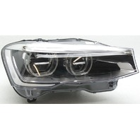Non-US Market BMW X3 Right Side LED Headlamp Tab Kit Added