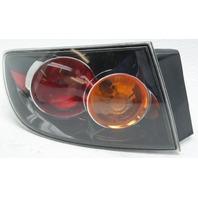OEM Mazda 3 Sedan Left Driver Side Tail Lamp BN8P-51-160E Lens Cracks