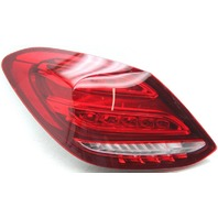 OEM Mercedes-Benz C450 Left Driver Side LED Tail Lamp Lens Crack