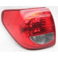 OEM Toyota Sequoia Left Driver Side Halogen Tail Lamp 81560-0C080 Lens Crack