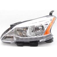 OEM Nissan Sentra Left Driver Side Halogen Headlamp Lens Chip 260101AA0D