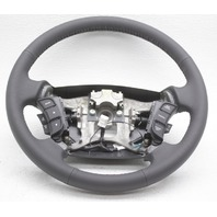OEM Kia Rondo Steering Wheel 56110-1D732WK Dk Gray Leather w/Switches