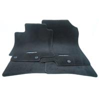 New OEM 2012-2016 Hyundai Accent Hatchback Floor Mat Set Black - 1RF14-AQ000
