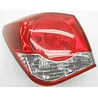 OEM Chevrolet Cruze Left Driver Side Tail Lamp Scratches on Lens