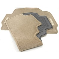 New Old Stock OEM Mazda Tribute 3-Piece Floor Mat Set Beige 0000-8B-G15-01
