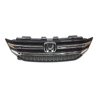 OEM Honda Pilot W/O Smart Cruise Front Upper Grille Gloss Black-Scratches
