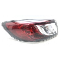 OEM Mazda 3 Sedan Left Driver Side Halogen Tail Lamp BBM451160F Lens Chip
