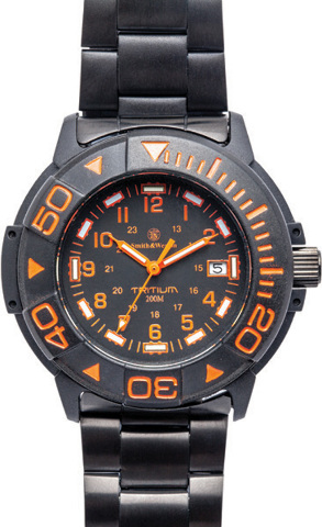 Smith wesson watch new tritium dive watch sww 900 or ebay for Tritium dive watches