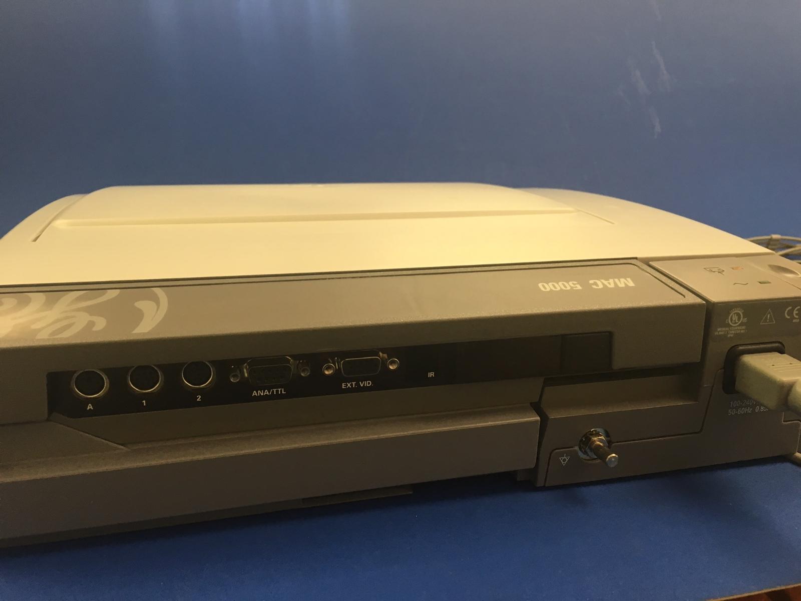 ge mac 5000 ekg machine
