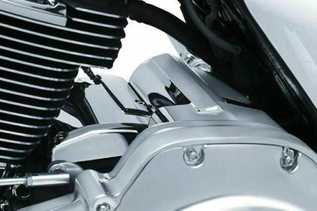 Kuryakyn 6415 Chrome Transmission Top Cover for 17-18 Harley Touring FLHX FLHR