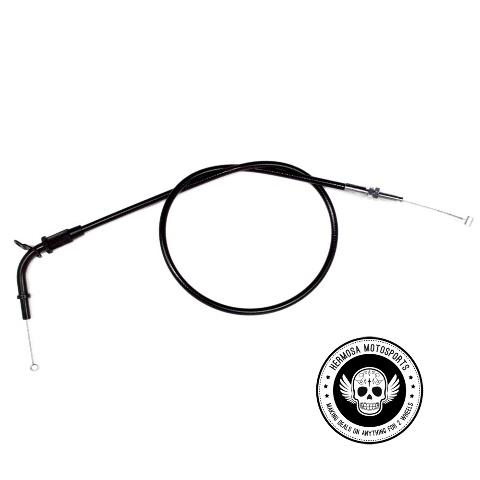 04-0305 MOTION PRO Black Vinyl Push Throttle Cable