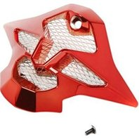 Shoei VFX-W Off-Road Helmet Replacement Mouthpiece - All Chrome Colors