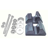 Yamaha All Trailing Arm Models C&A Pro Skis Mounting Kit - 76000189