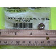 Bombardier CanAm Hexagon Nut 1/4-28 211100056