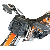 Snow Bike Front Number Plate Bag w/out Headlight Free Shipping - CNPP300-BK