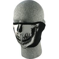 ZANheadgear Neoprene Half Mask Skull Face - WNFM002H