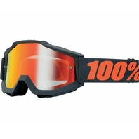 100% Accuri Blue Adult Off-Road Goggles w/ Clear Lens