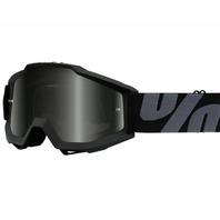 100% Accuri OTG Goggles - Superstition Black w/Smoke Lens