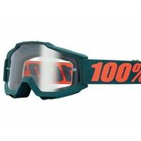 100% Accuri OTG Goggles - Gunmetal Gray w/ Clear Lens