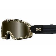 100% Barstow Legend Goggles - Carlton w/Bronze Lens