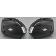 Givi Motorcycle V35 Side Cases 35 L Smoke Lens Hard Plastic Luggage Set V35NTA