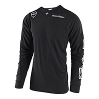 Troy Lee Designs SE Air Motocross Jersey - SOLO Black - All Sizes