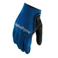 Troy Lee Designs XC Blue Off-Road Riding Gloves - Mens Small-2XL
