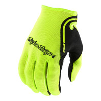 Troy Lee Designs Flo Yellow XC Off-Road MTB Gloves - Small-2XL