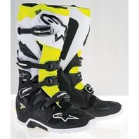 Alpinestars TECH 7 ENDURO Off-Road MX Boots - Black/White/Yellow - Mens 7-14