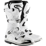 Alpinestars TECH 8 RS Off-Road MX CE Certified Boots - White - Mens 5-15