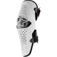 Alpinestars SX-1 MX CE Certified Knee Guard - White/Black - Sizes S-2X