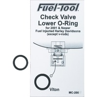 Fuel Tool EFI Check Valve Lower O-Ring for 01-up HD - MC200