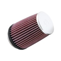 Triumph TR8 V8 Round Tapered Chrome K&N Universal Air Filter - RC-2600