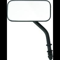 Harley-Davidson Universal Black Rectangular Left or Right Side View Mirror