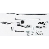 Forward Control Kit W/Chrome Mounting Plates And No Pegs