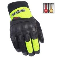 Cortech HDX 3 Hi-Viz/Black Motorcycle Gloves - Men's XS-3XL