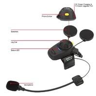 Sena Motorcycle Helmet Bluetooth Headset & Intercom w/FM Tuner Microphone Kit