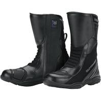 Tourmaster SOLUTION WP Weatherproof Road Boot - Black - Men's Sizes 7-15/9W-14W