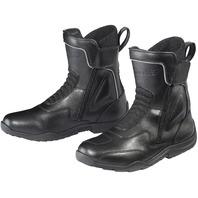 Tourmaster FLEX WP Weatherproof Dual Zip Boot - Black - Men's Sizes 7-14