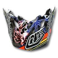 Troy Lee Designs SE2 Replacement Helmet Visor - Pistonbone Black 1122-6000