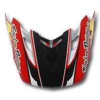 Troy Lee Designs TLD SE2 Replacement Helmet Visor - Tremor Red 1119-0400