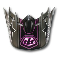 Troy Lee Designs SE Orbit Replacement Helmet Visor - Stunt Pink 1131-1900