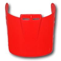 Troy Lee Designs Intrepid Universal Motorcycle Helmet Visor - Bright Red