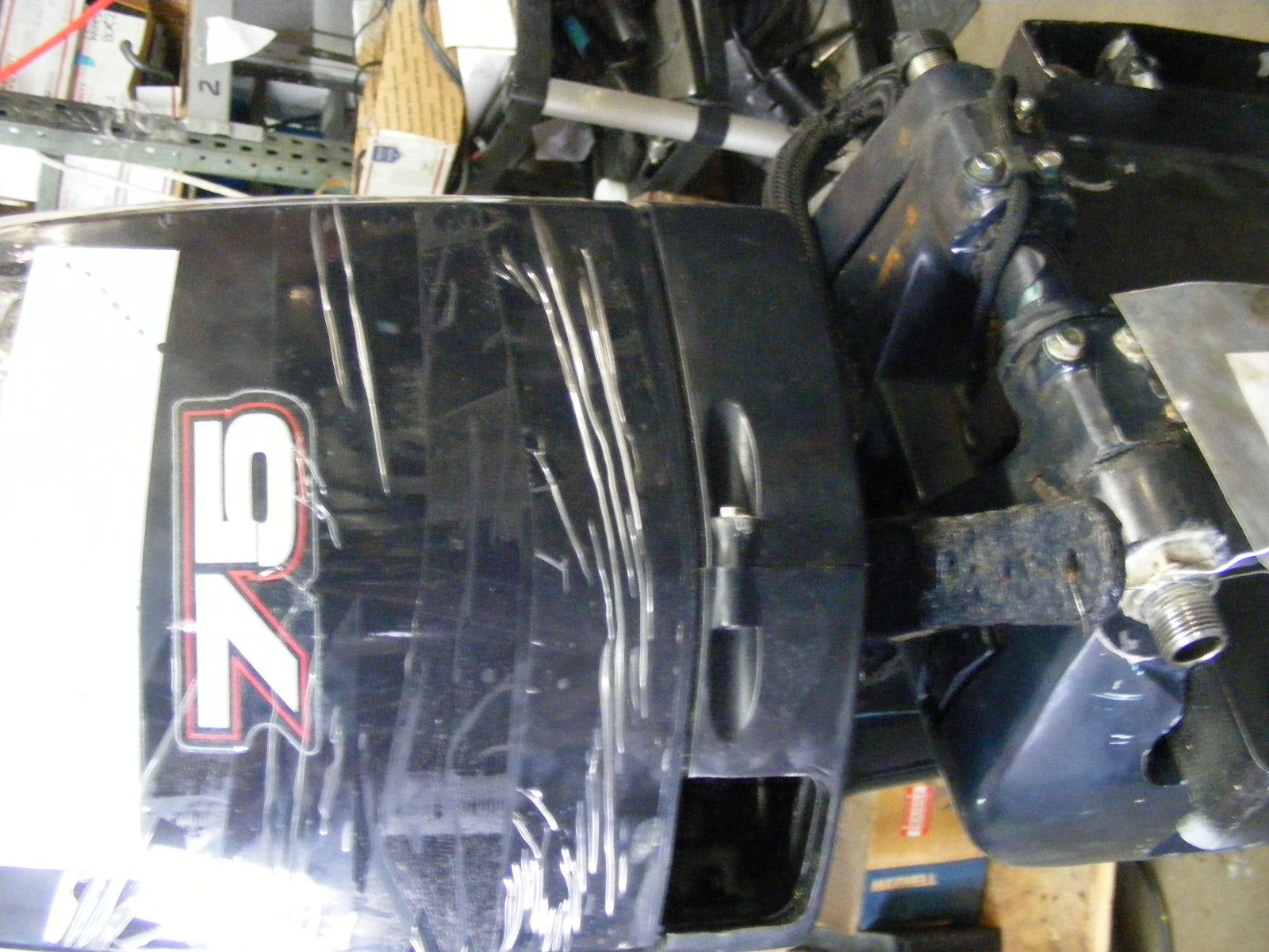 2005 Evinrude Johnson 75 Hp Shaft 20 Outboard Engine Motor
